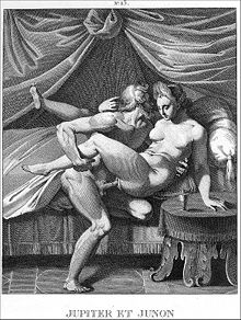 Erotic engraving supposedly after Agostino Carracci (1557–1602)