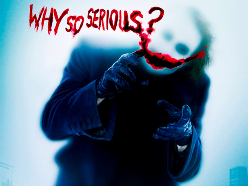 Why so serious MrMary ?
