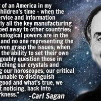 Carl Sagan's Haunting 1995 Prediction about the Future