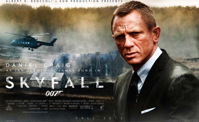 MrMary @ The Movies: Skyfall & an Impromptu Reflection of beauty