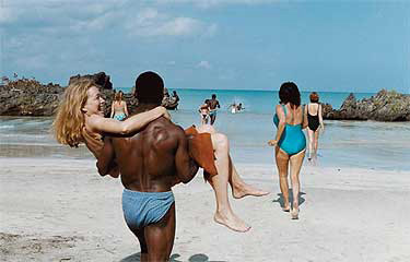 see thats why I work out my back, so can bag the women in NYC who say no to me when I go visit Jamaica
