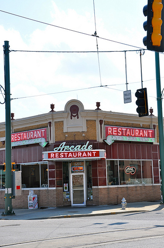 Arcade Restaurant Entrance Memphis TN