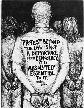 zinn-protest