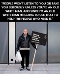 patrick Stewart using White Privilege to bring attention to Women's Rights