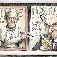 MrMary on Religion & Rich Catholics Hating the Pope