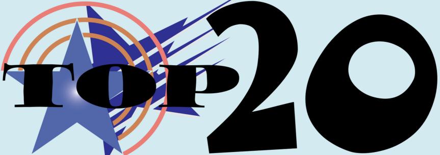 Top 20 KC Cafe Radio Logo