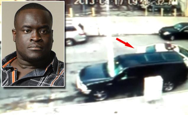 Cops slam into Brooklyn man's parked SUV, bust him for 'driving' with no license