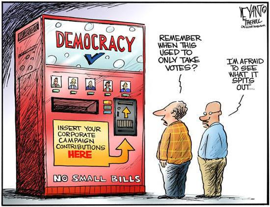 Remember when Democracy used to work on Votes …